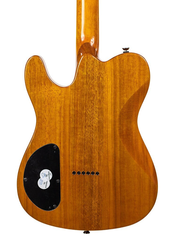 Fender B-Stock Fender Special Edition Telecaster Custom FMT HH - Amber 1105