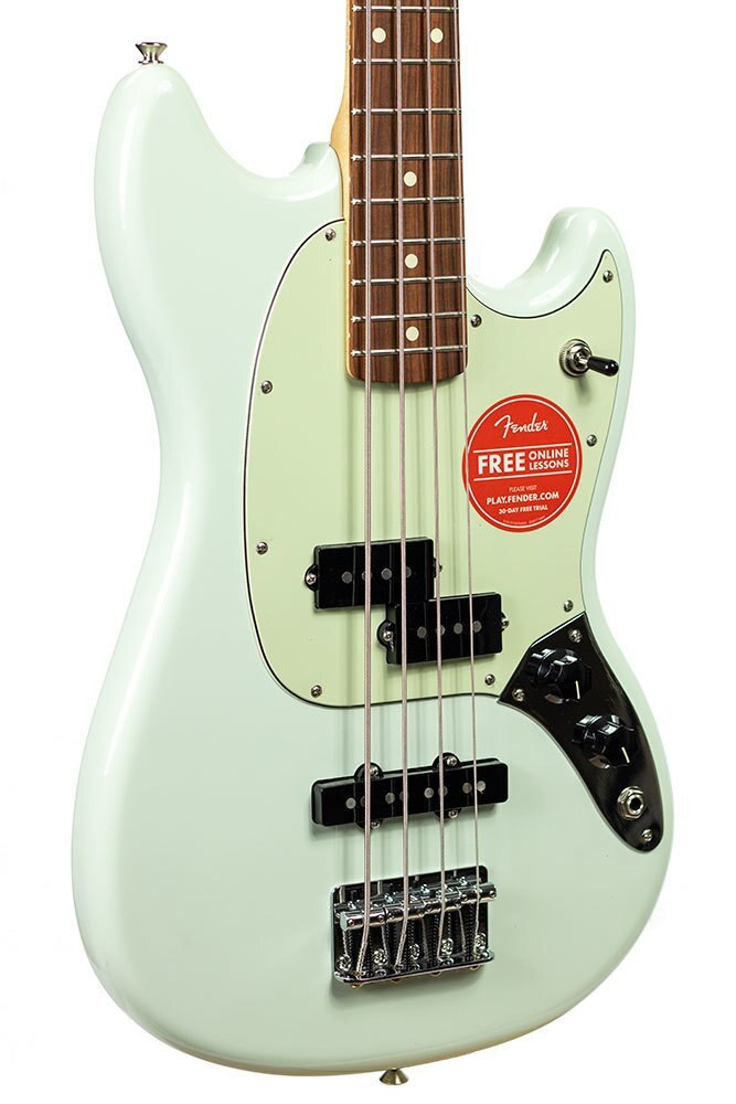 Fender B-Stock Fender Mustang Bass PJ - Sonic Blue