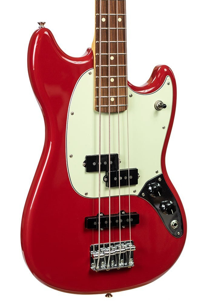 Fender B-Stock Fender Mustang Bass PJ - Torino Red 0607