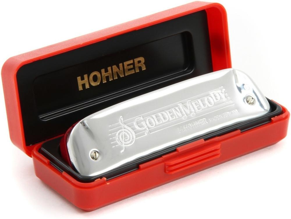 Hohner Hohner Golden Melody Key D Harmonica
