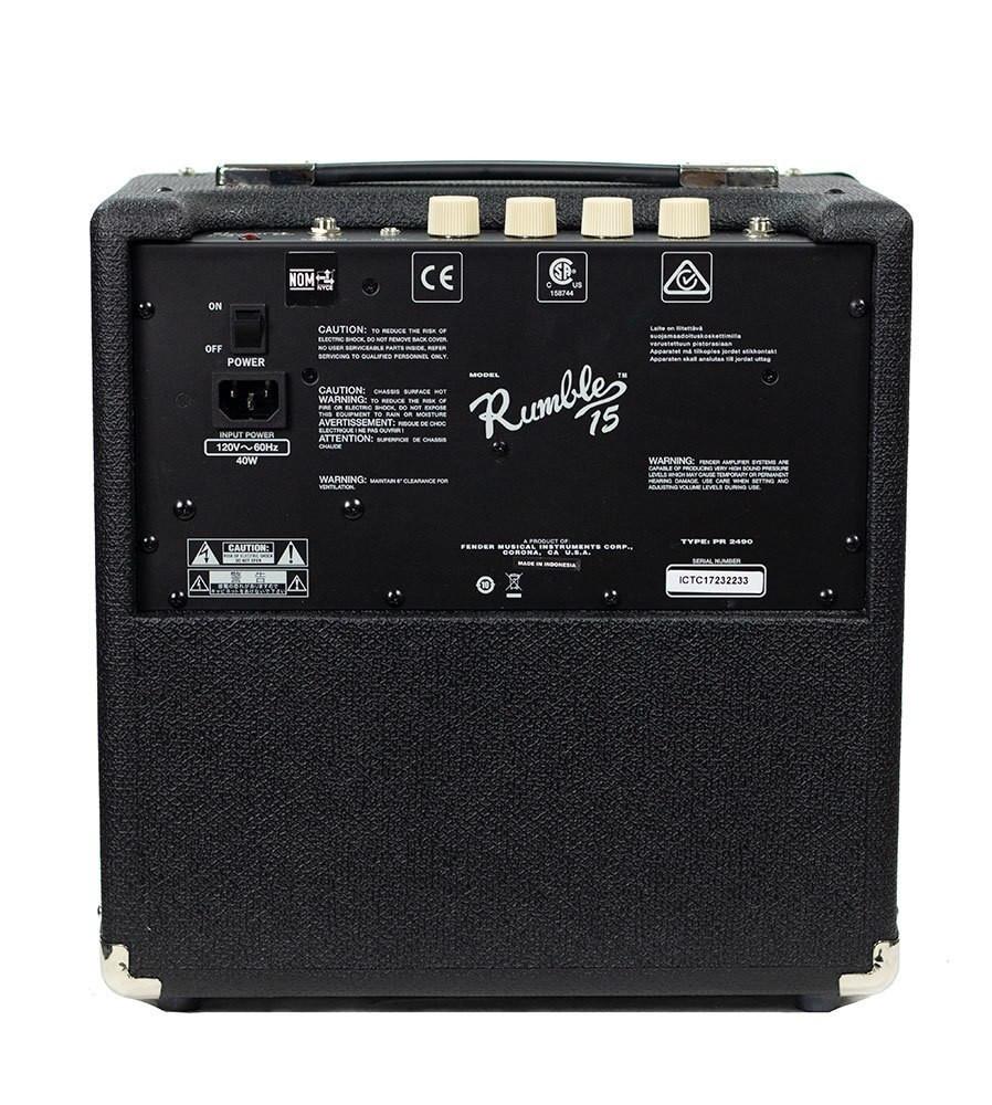 Fender B-Stock Fender Rumble 15 Bass Amp 2233