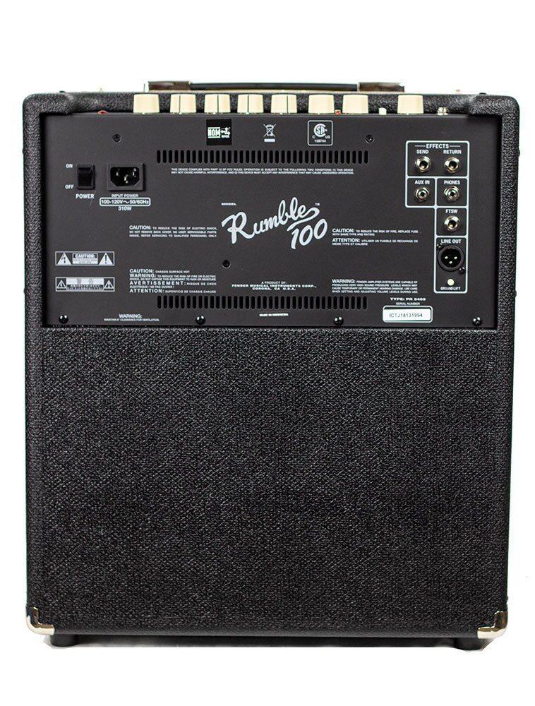 Fender B-Stock Fender Rumble 100 Bass Amp 1994