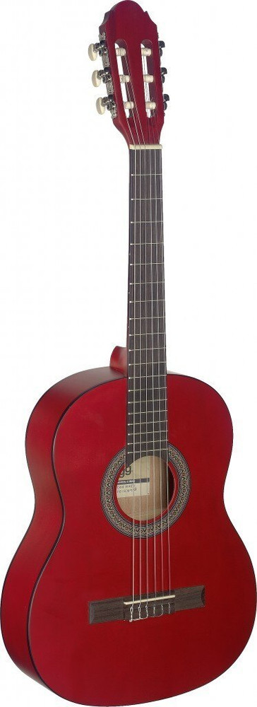 Stagg Stagg 3/4 Red Classical Guitar
