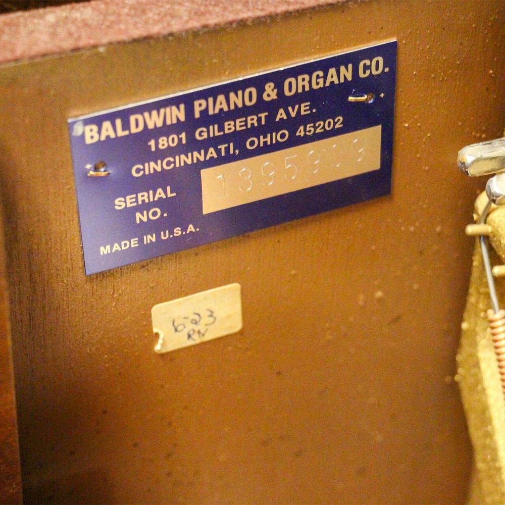 Baldwin Baldwin Spinet Piano or 1986