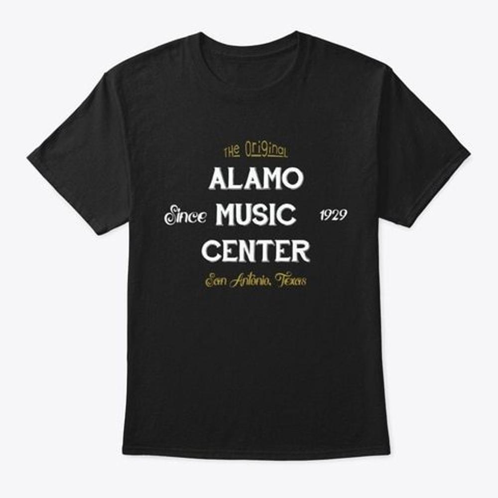 Alamo Music Center Alamo Music Retro T-Shirt - Black