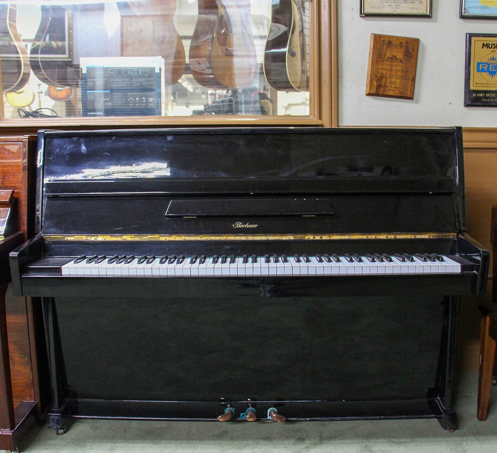 Bechner Bechner Continental Console Piano or Polished Ebony