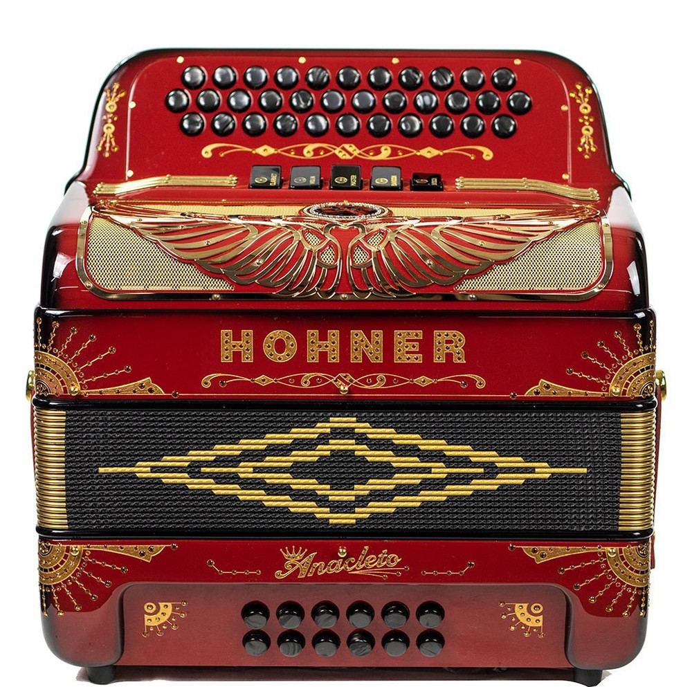Hohner Hohner Rey Aguila FBE 5S Regular, Ruby Red