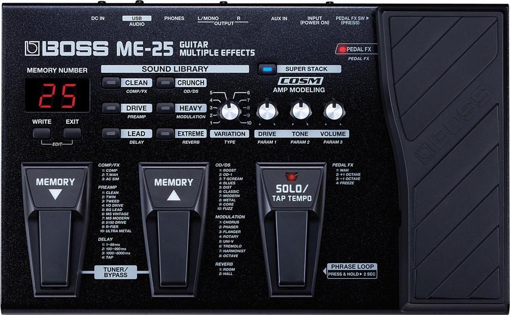 Boss Boss ME25 Guitar Multiple Effects Processor