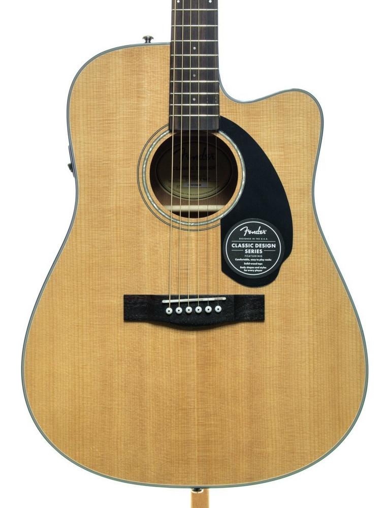 Fender Fender CD-60SCE Acoustic-Electric Guitar - Natural