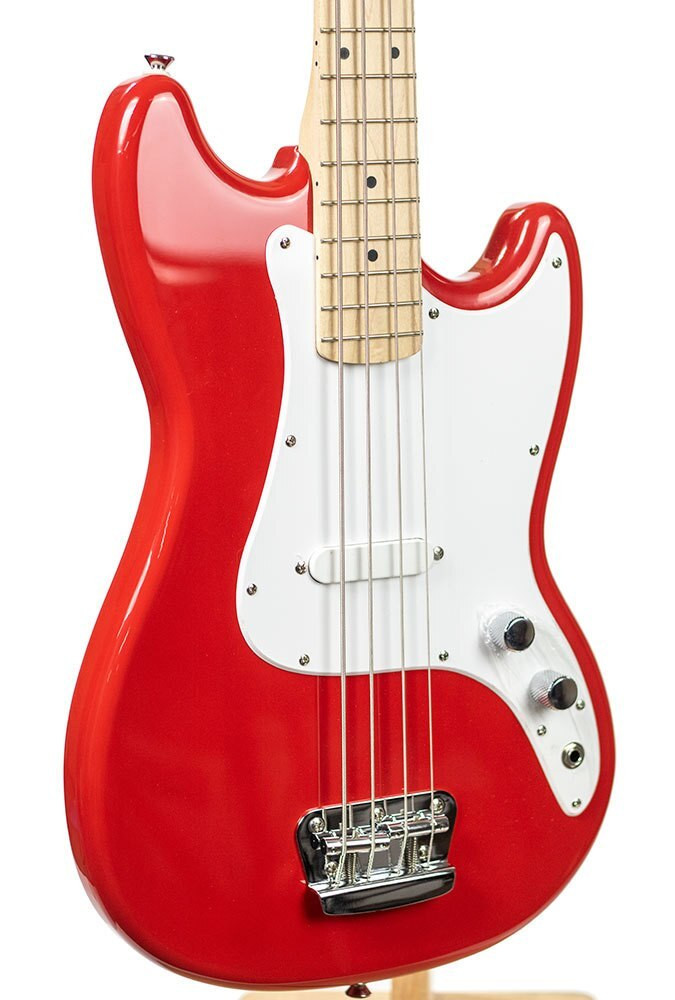 B-Stock Bronco Bass, Maple Fingerboard - Torino Red