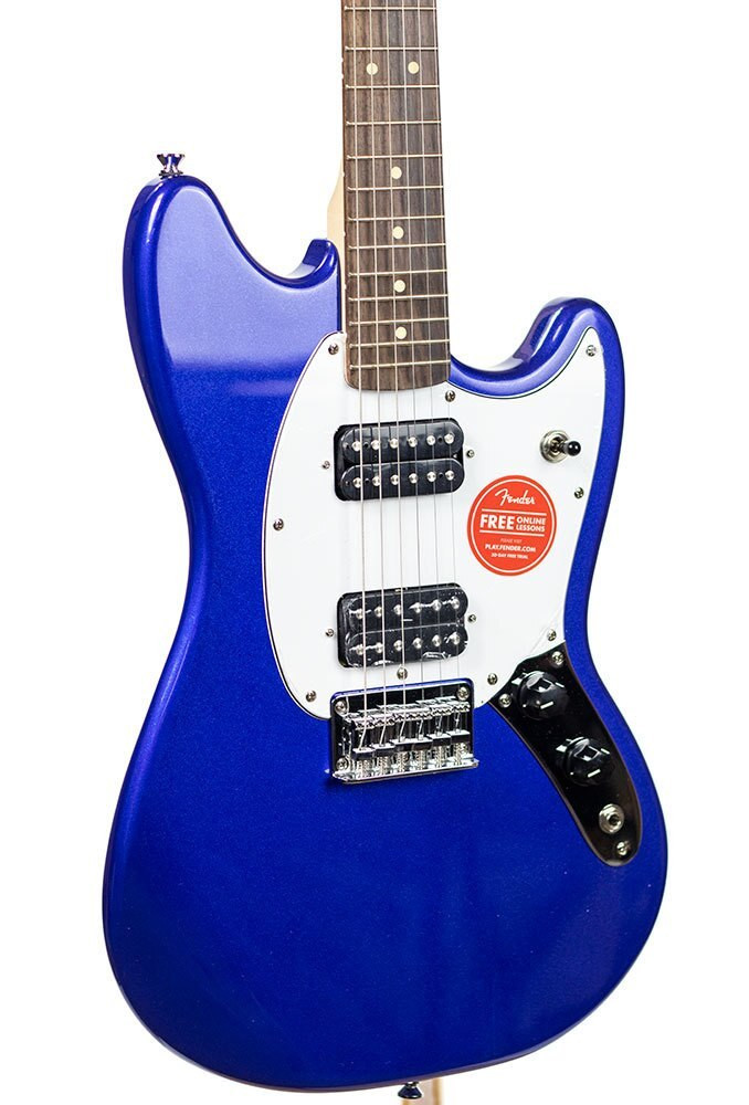 B-Stock Squier Bullet Mustang HH, Rosewood Fingerboard - Imperial Blue