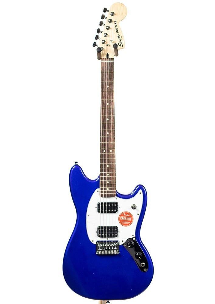 B-Stock Squier Bullet Mustang HH, Rosewood Fingerboard - Imperial Blue 4041
