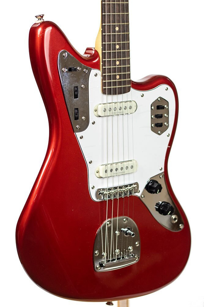 B-Stock Squier Vintage Modified Jaguar, Rosewood Fingerboard - Candy Apple Red