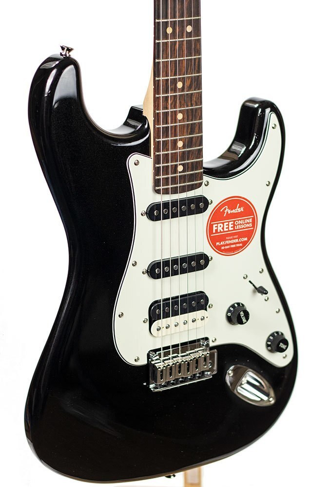 Squier B-Stock Squier Contemporary Stratocaster HSS, Rosewood Fingerboard - Black