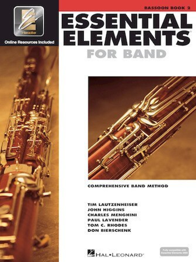 Hal Leonard Essential Elements Bassoon - Book 2