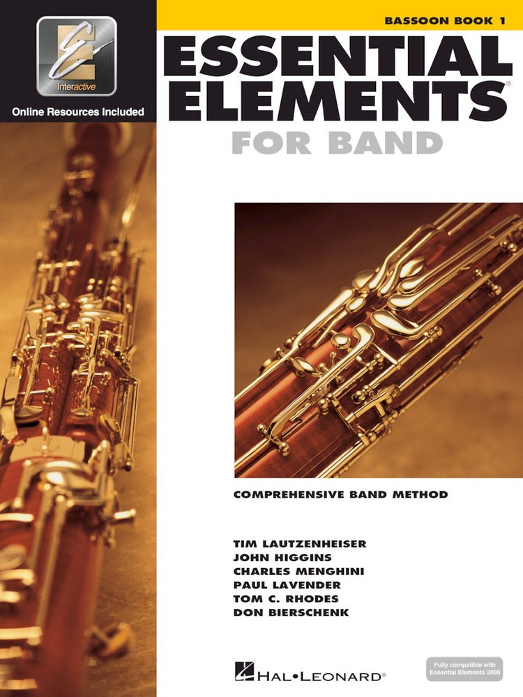 Hal Leonard Essential Elements for Band Bassoon Book 1