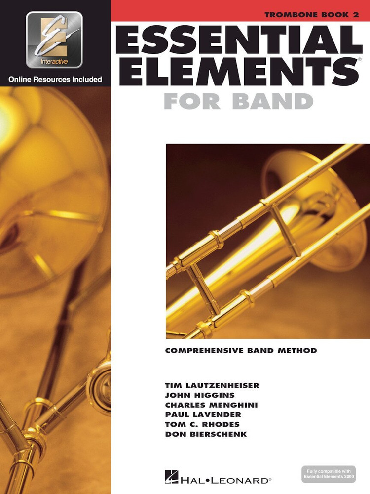 Hal Leonard Essential Elements for Band Book 2 Trombone