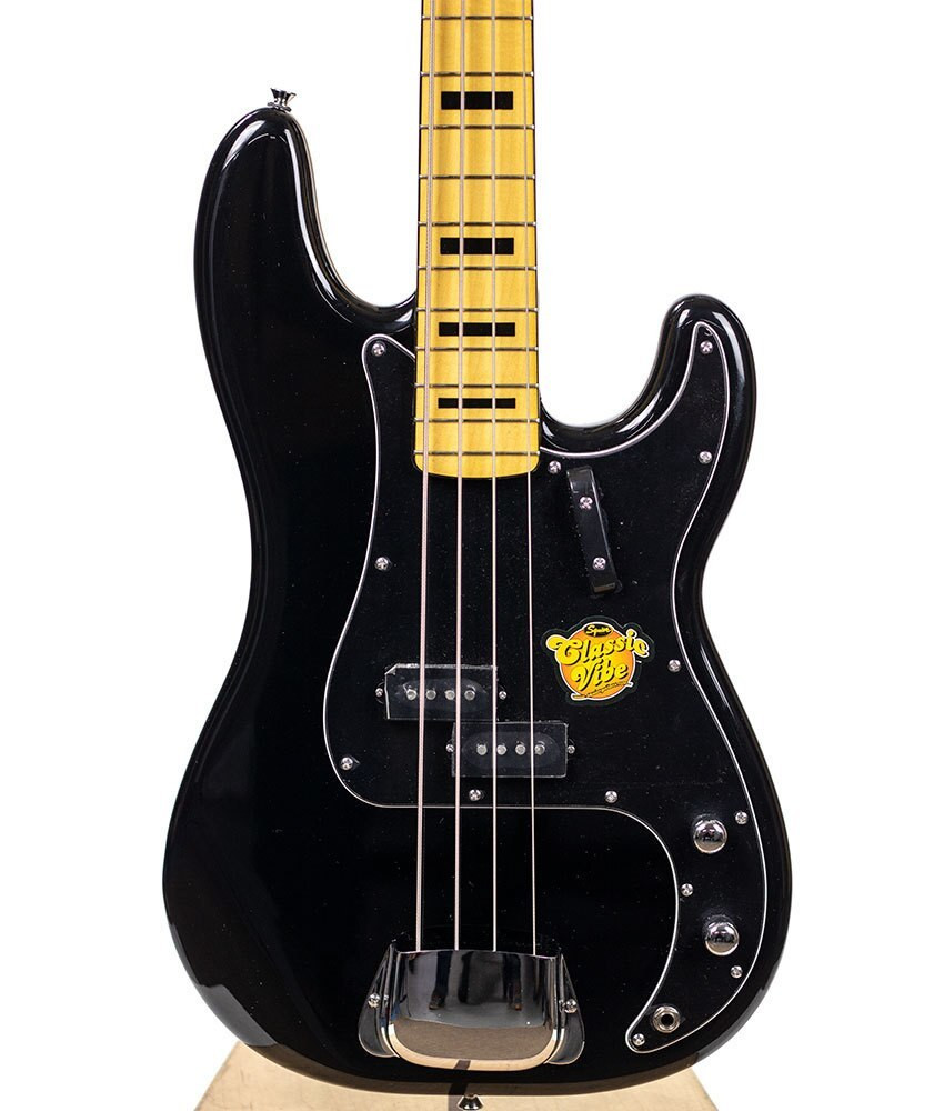 B-Stock Squier Classic Vibe 70s Precision Bass - Black