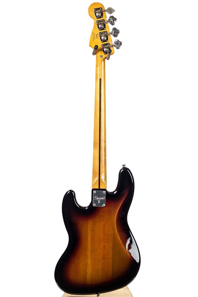 B-Stock Squier Classic Vibe 60s Jazz Bass Fretless - 3-Color Sunburst