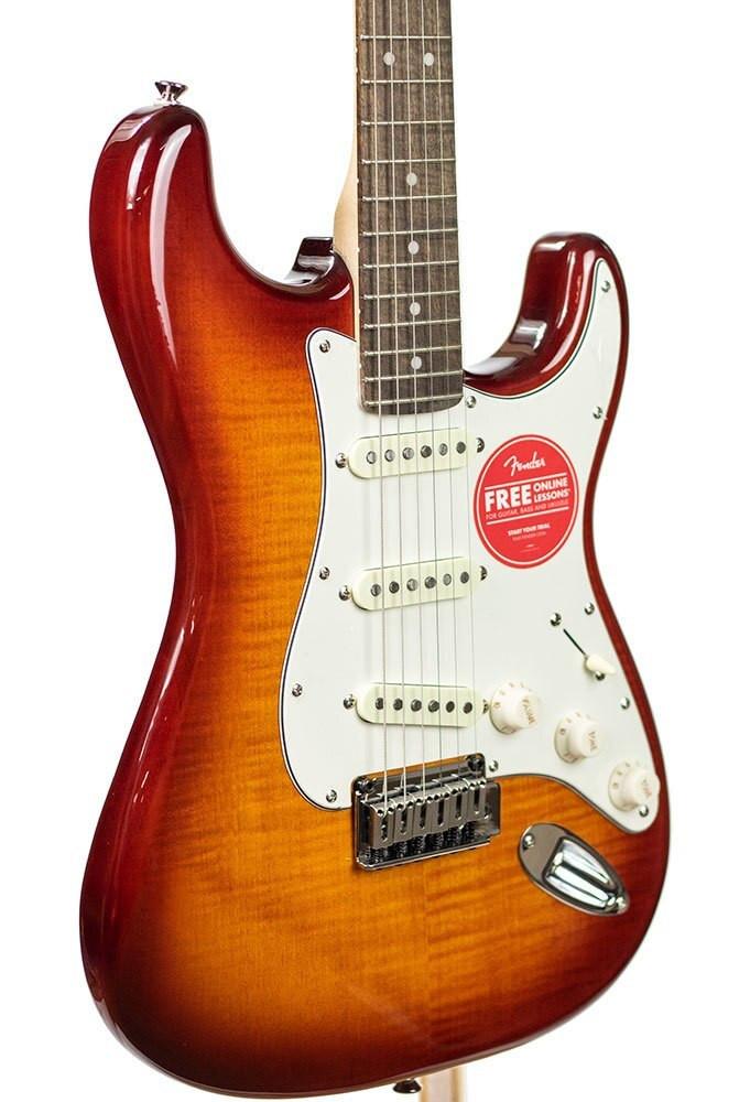 B-Stock Squier Standard Stratocaster FMT, Laurel Fingerboard, Amber Sunburst