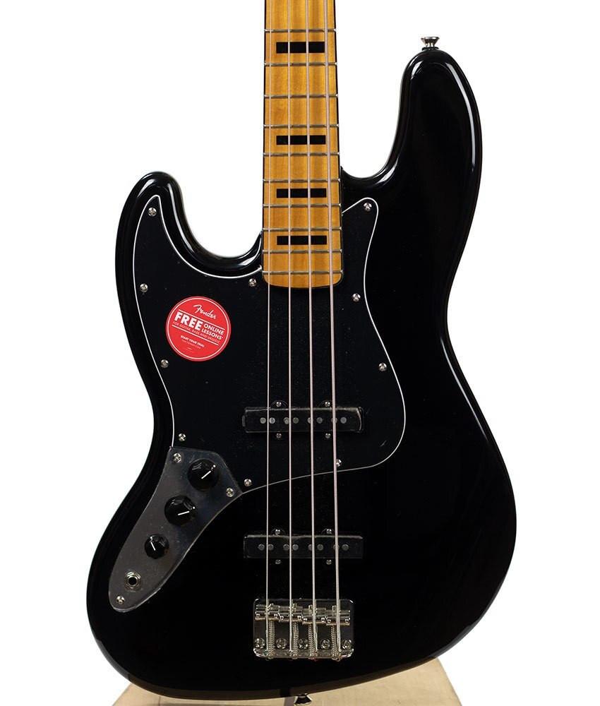 B-Stock Squier Classic Vibe 70s Jazz Bass Left-Handed - Black