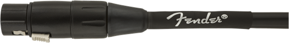 Fender Fender Professional Series Microphone Cable, 15, Black