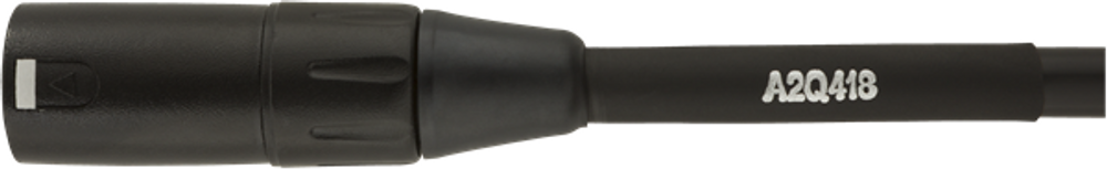 Fender Fender Professional Series Microphone Cable, 10 - Black