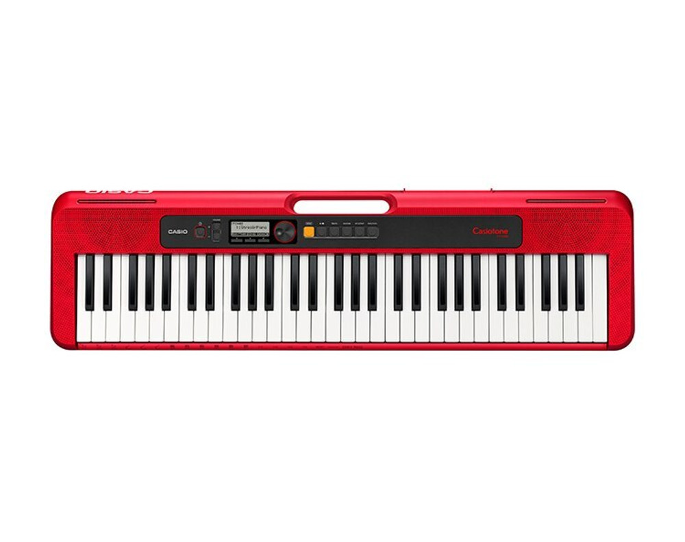 Casio Casio Casiotone CT-S200 Portable Keyboard Red