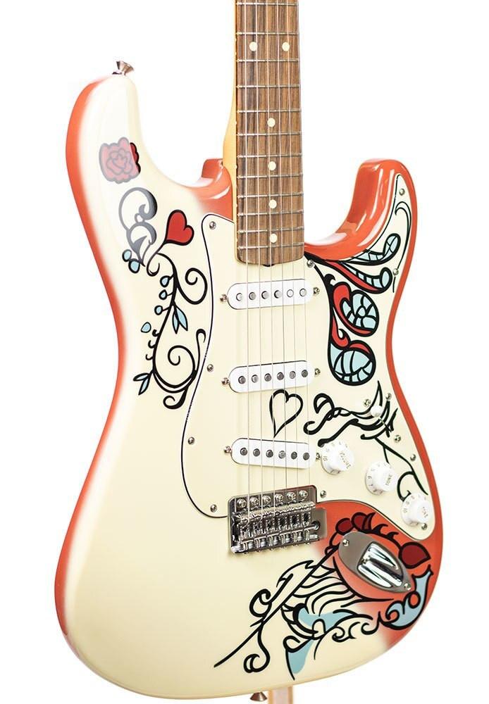Fender B-Stock Fender Jimi Hendrix Monterey Stratocaster - Pau Ferro Fingerboard