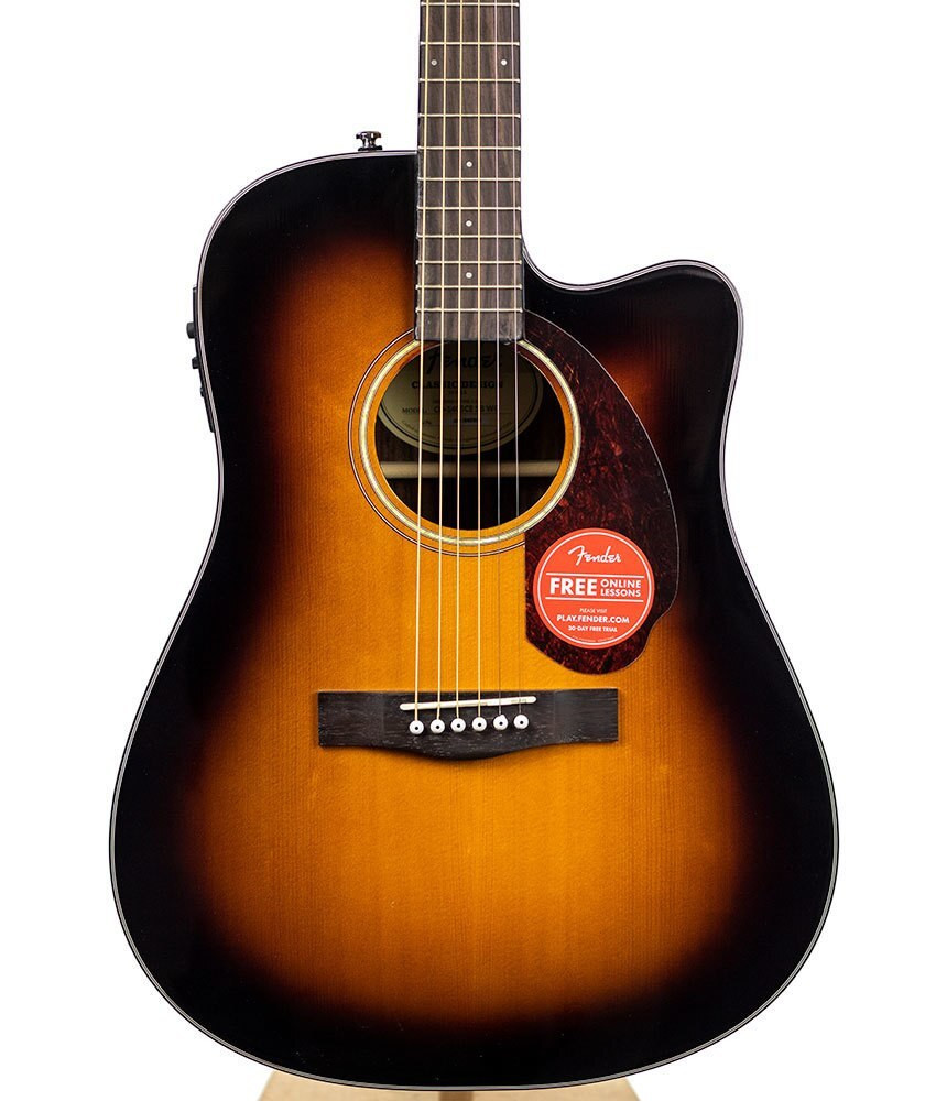 Fender Acoustic Guitars B-Stock Fender Classic Design Series CD-140SCE - Sunburst 2602