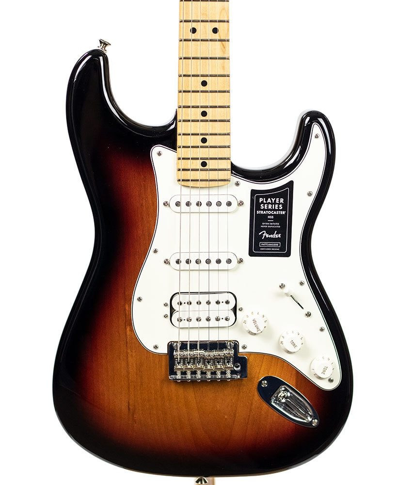 Fender B-Stock Fender Player Stratocaster HSS, Maple Fingerboard, 3-Color Sunburst