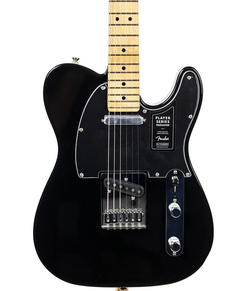 Fender B-Stock Fender Player Series Telecaster - Black/Maple Fingerboard