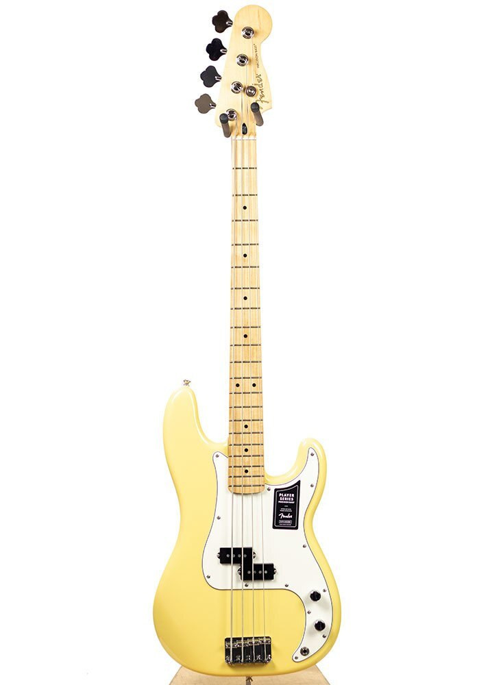 Fender B-Stock Fender Player Precision Bass, Maple Fingerboard, Buttercream 7136