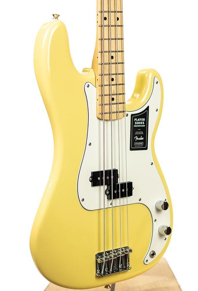 Fender B-Stock Fender Player Precision Bass, Maple Fingerboard, Buttercream 7136