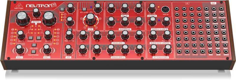Behringer Behringer Neutron Semi-Modular Analog Synth DEMO-MINT 26CM5