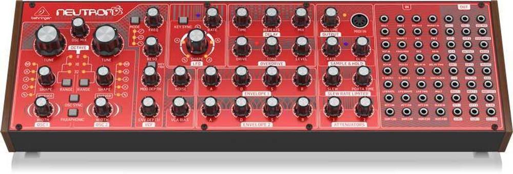 Behringer Behringer Neutron Semi-Modular Analog Synth DEMO-MINT 76CM5