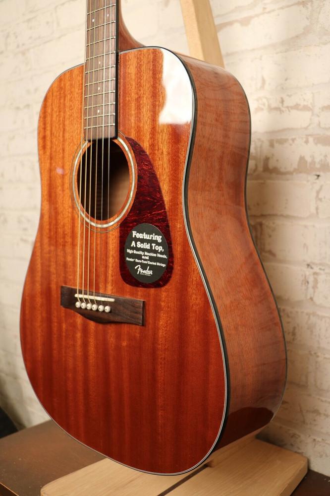 Fender Acoustic Guitars Fender CD-140S Dreadnought All Mahogany Acoustic Guitar