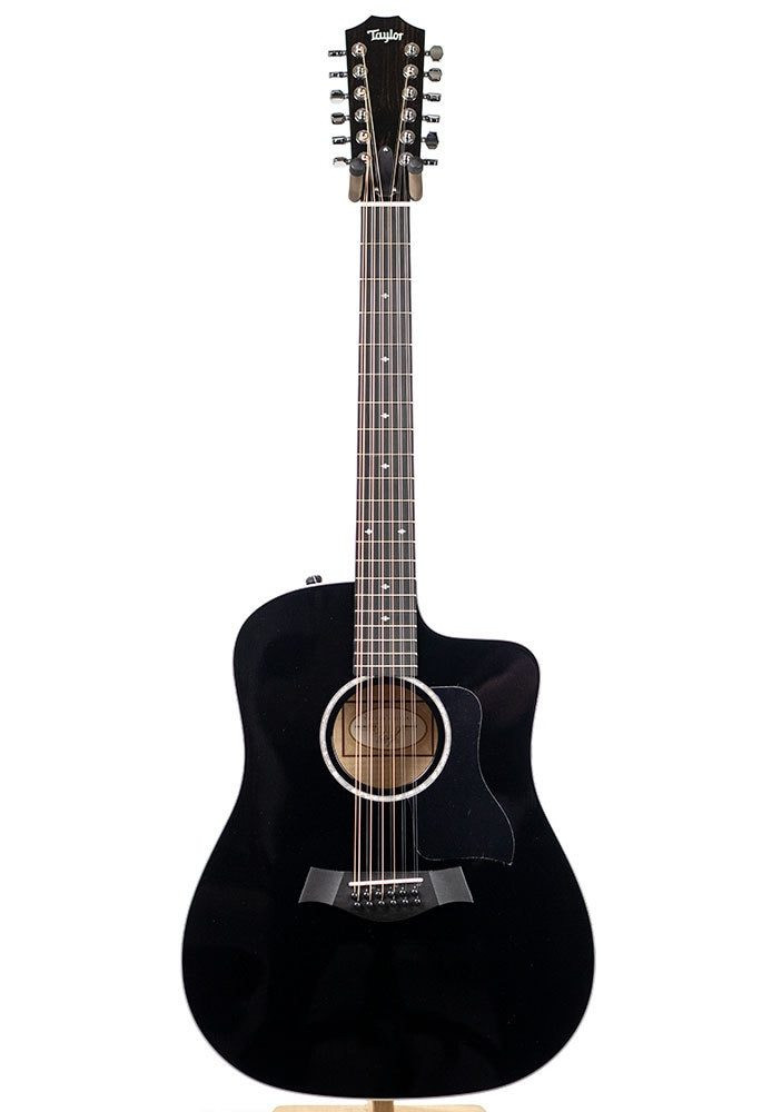 Taylor Guitars Factory Used Taylor 250ce Deluxe 12 String - Black 9463