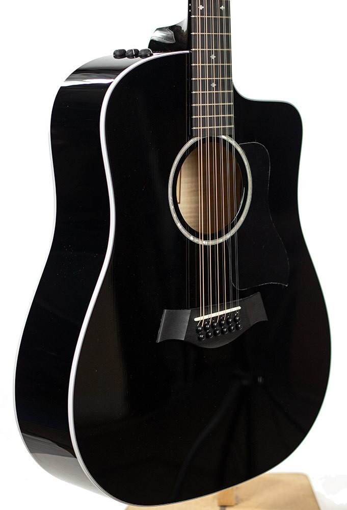 Taylor Guitars Factory Used Taylor 250ce Deluxe 12 String - Black 9292