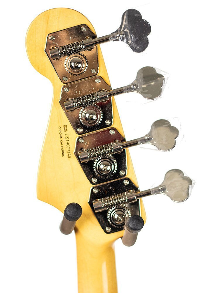 Fender Fender Rarities Flame Ash Top Jazz Bass, Ebony Fingerboard, Plasma Red Burst