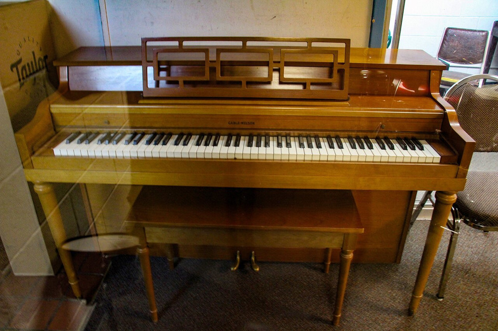 Cable-Nelson Cable-Nelson Art Deco Spinet Piano