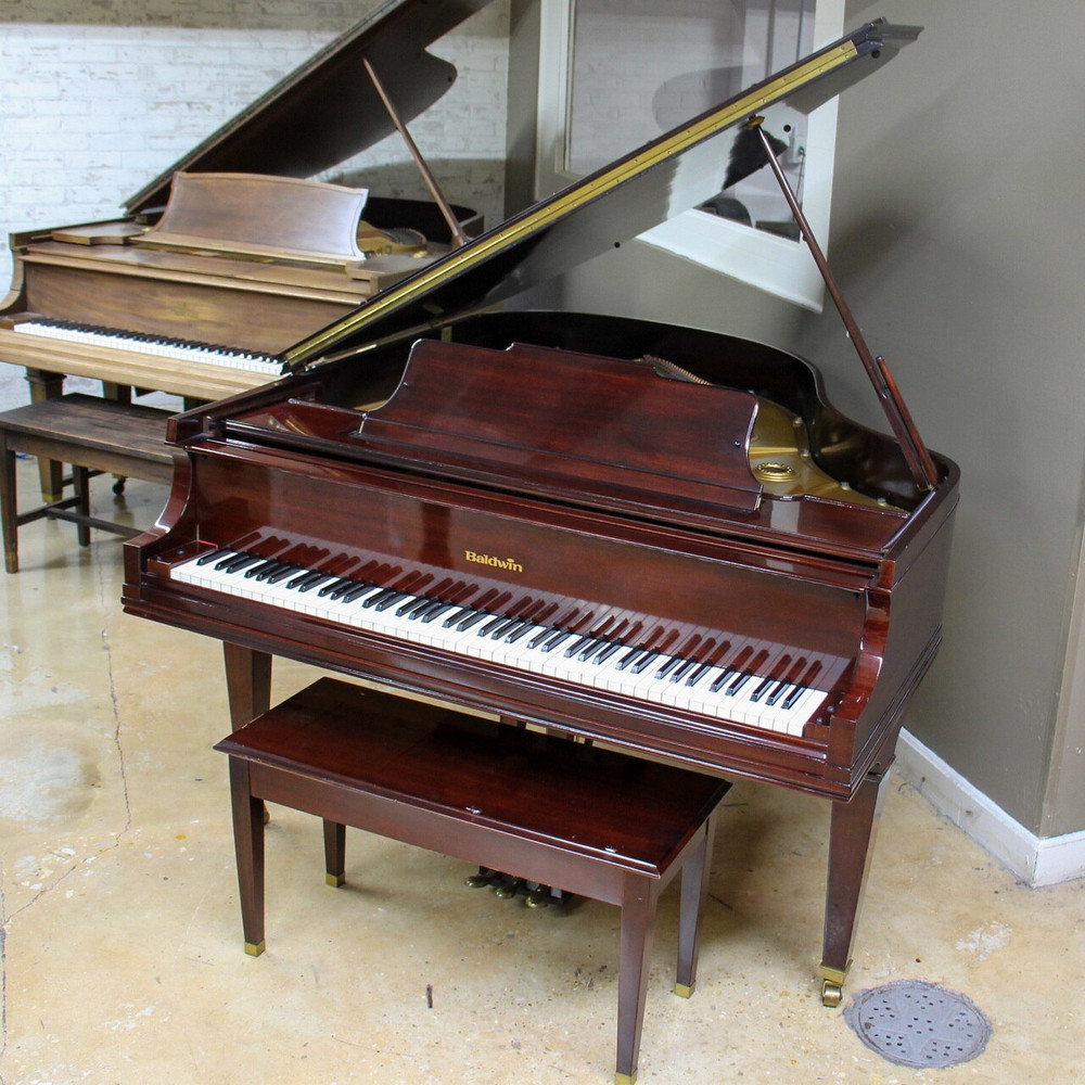 Baldwin Baldwin R Grand Piano or 58 or Polished Mahogany