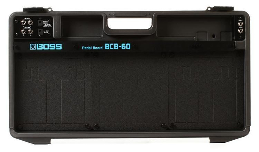 Boss Boss Pedal Board Case Audio and Power Cables Included