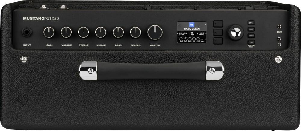 Fender Fender Mustang GTX50 Modeling Guitar Amp, 120V