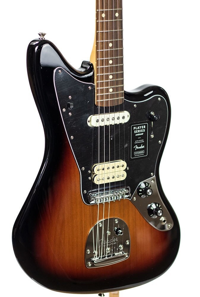 Fender B-Stock Player Jaguar, Pau Ferro Fingerboard - 3 Color Sunburst ELECTRIC7772