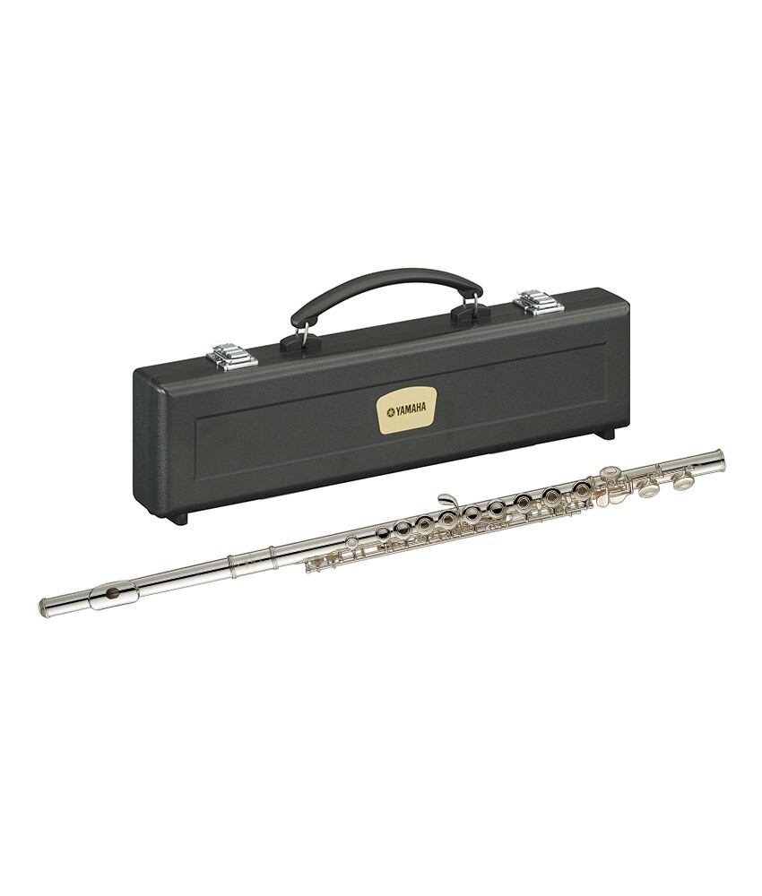 Yamaha Yamaha YFL-281 Standard Silver Open Hole In Line Flute