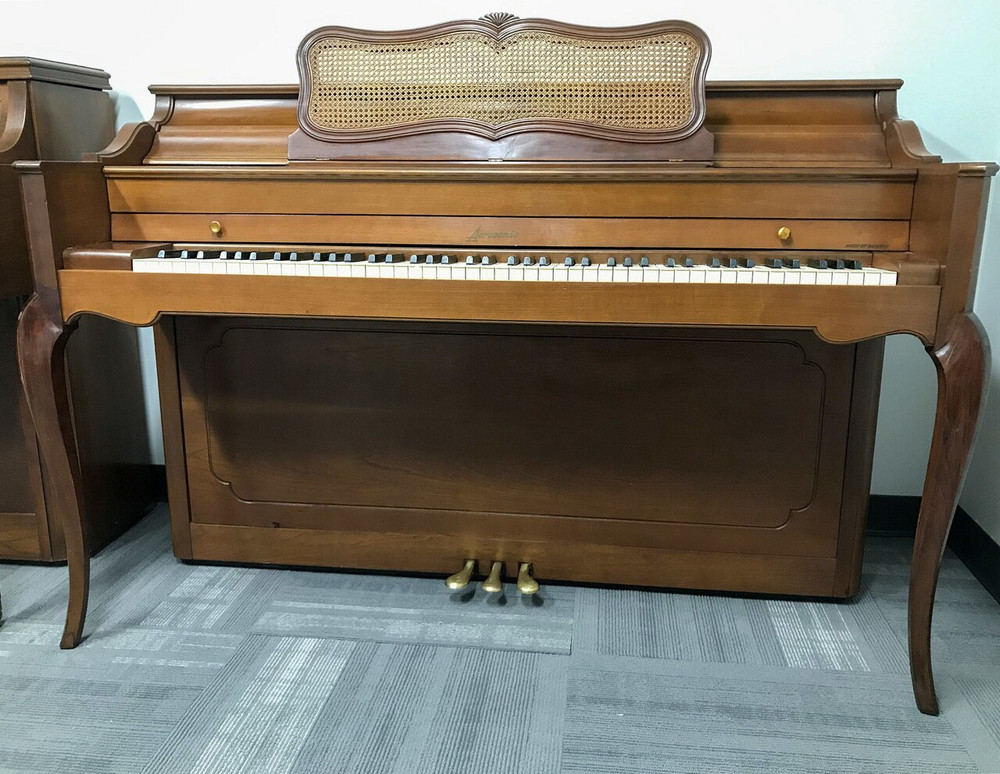 Baldwin Baldwin Acrosonic French Leg Console Piano circa 1964