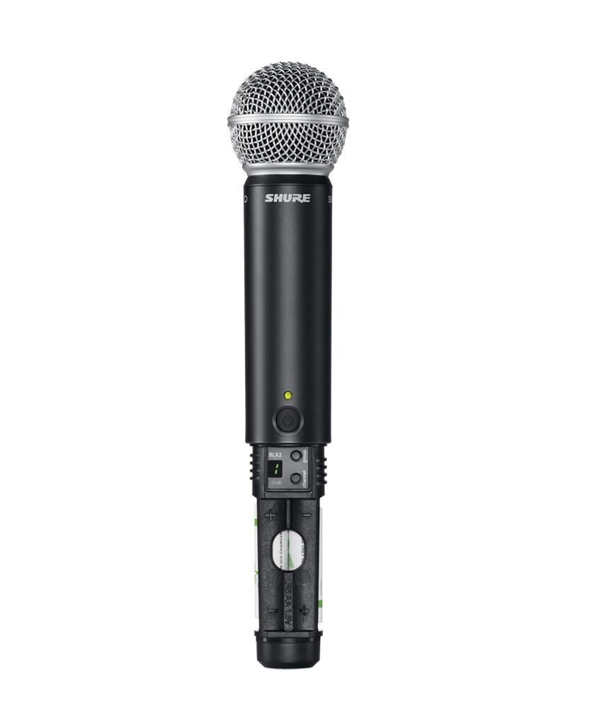 Shure Shure BLX24 Rackmountable Wireless Microphone System with SM58
