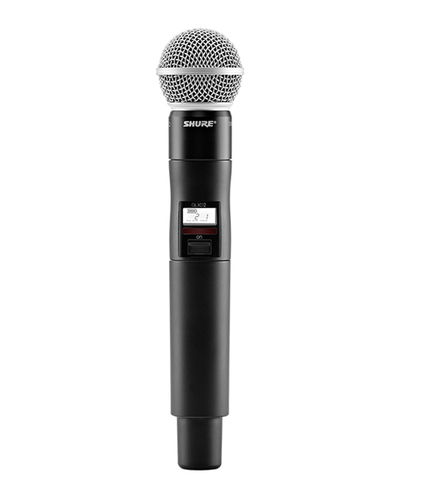 Shure Shure QLXD2 Handheld Transmitter with SM58 Microphone