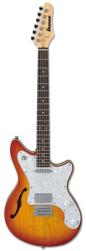 Ibanez Ibanez RR365HLVS Roadcore Series Semi-Hollow Electric Guitar Light Violin Sunburst